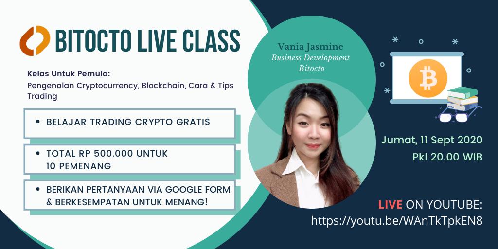 Live Class: Pengenalan Cryptocurrency