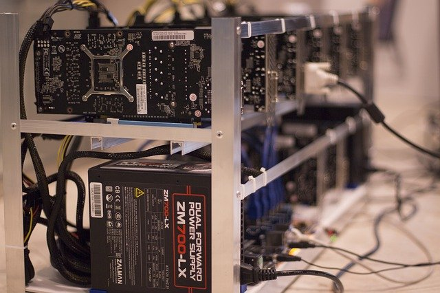 Ilustrasi cara menambang bitcoin